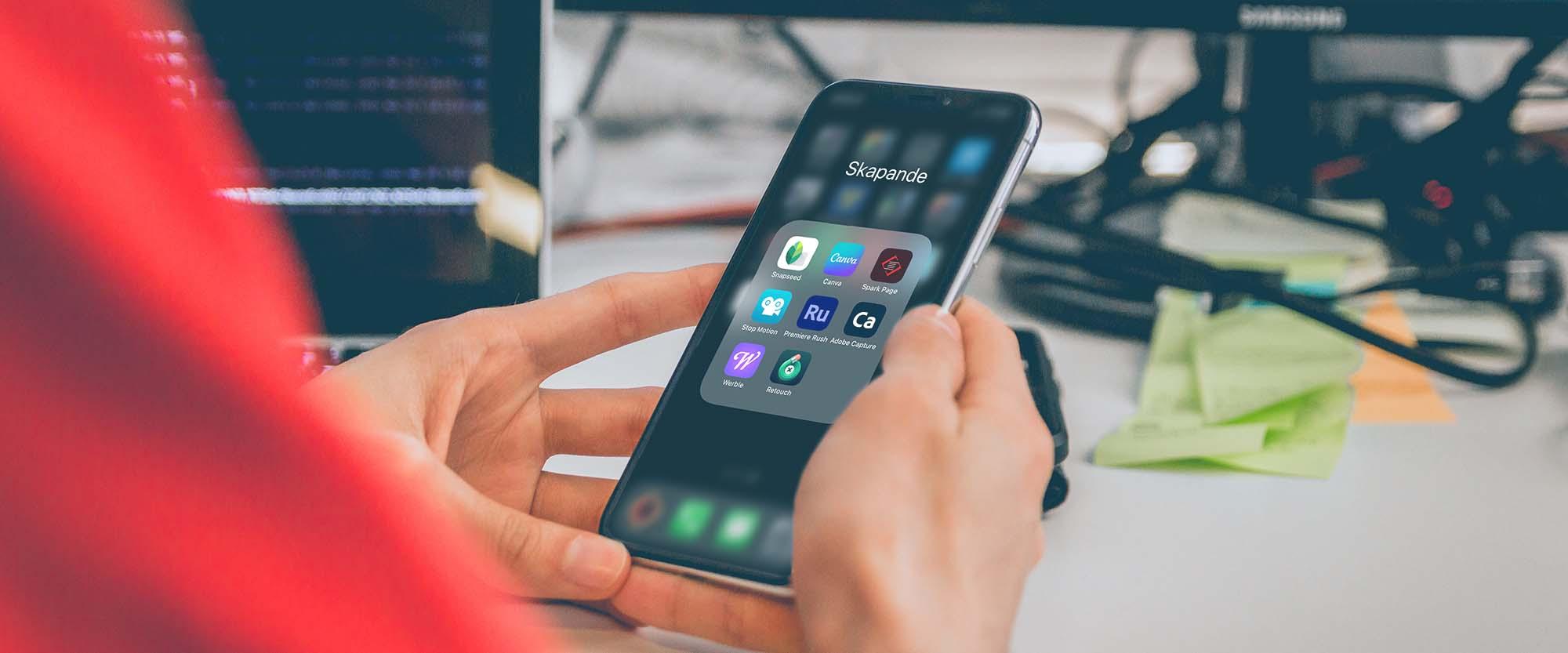 Onlinekurs Appar för innehållsskapande till sociala medier 2021