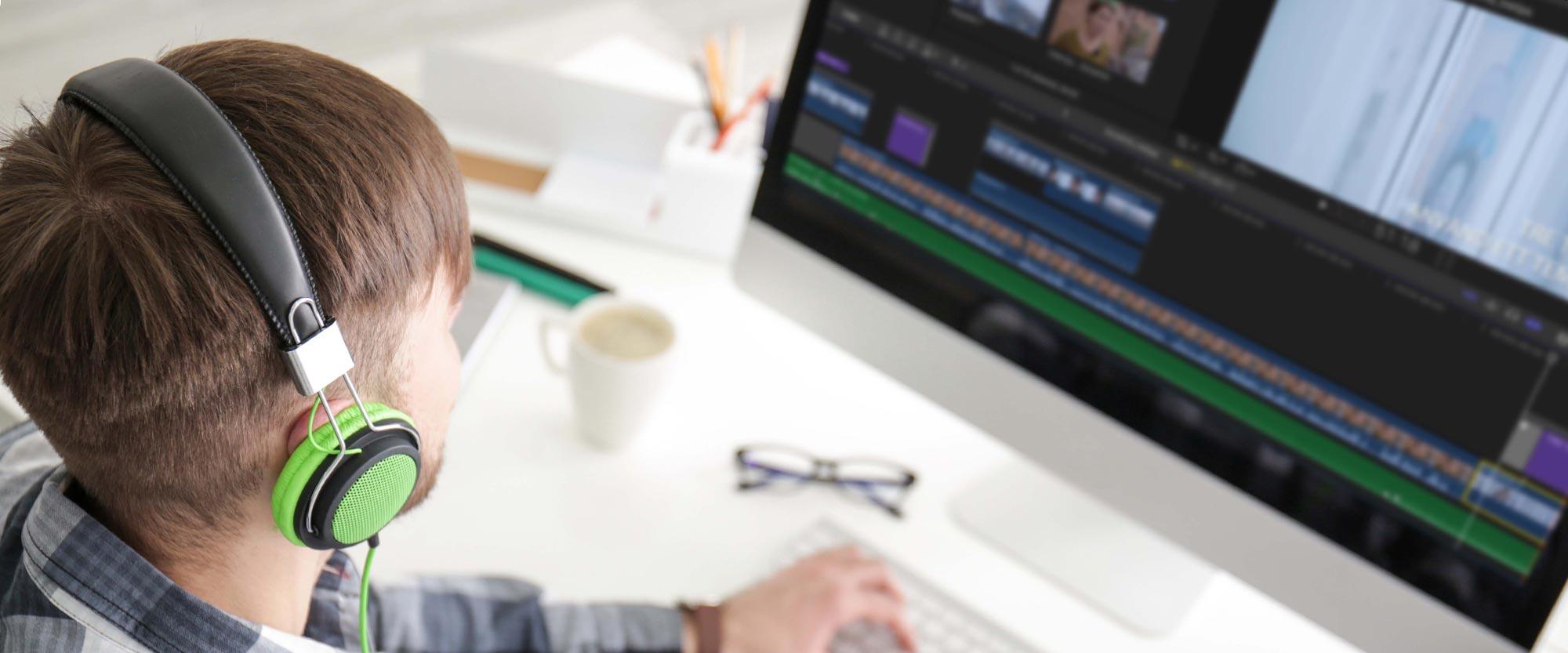 Onlinekurs Grunderna i att videoredigera