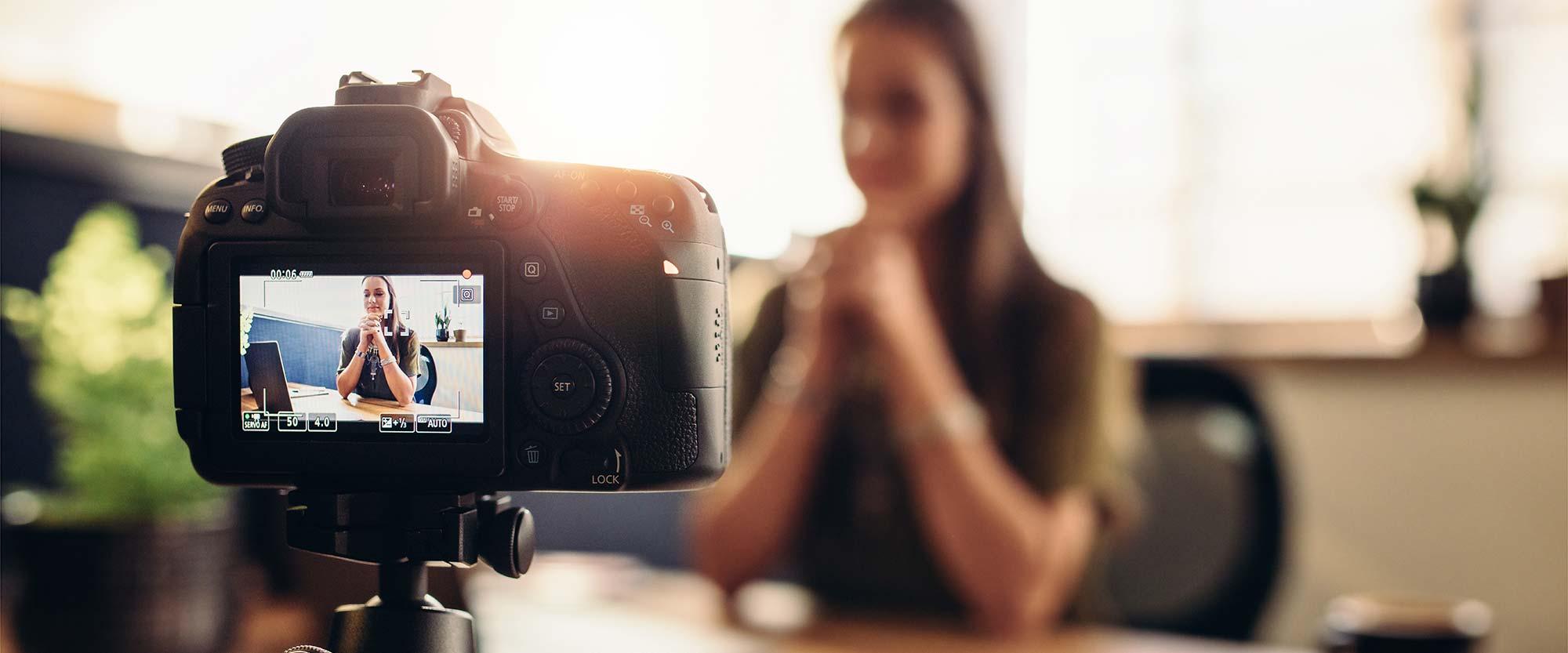 Onlinekurs Grunderna i att filma