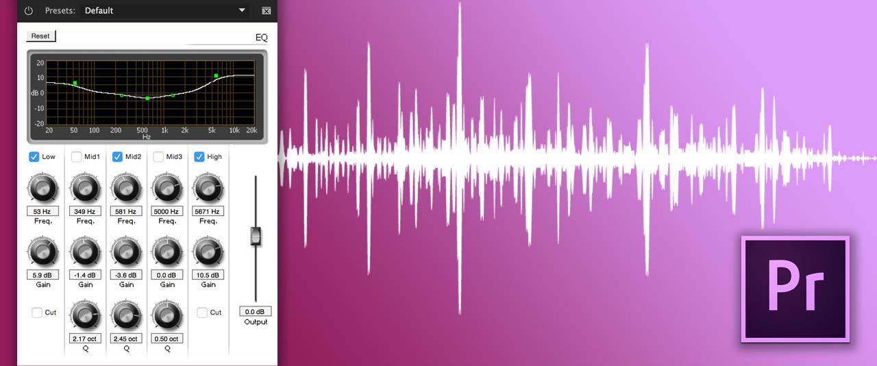 Onlinekurs Förbättra ditt ljud i Premiere Pro