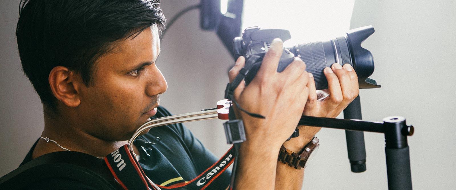 Onlinekurs Filma med din systemkamera