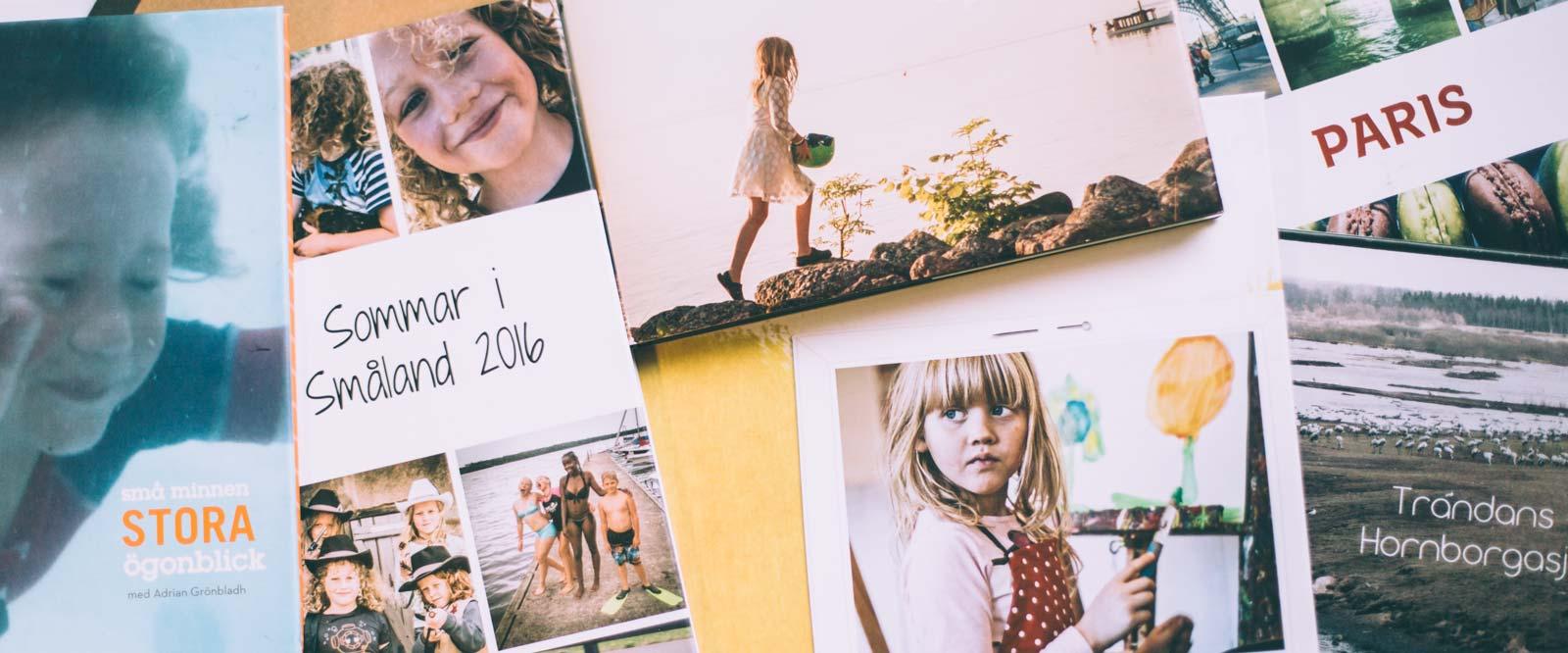 Onlinekurs Skapa din första fotobok - Föreläsning
