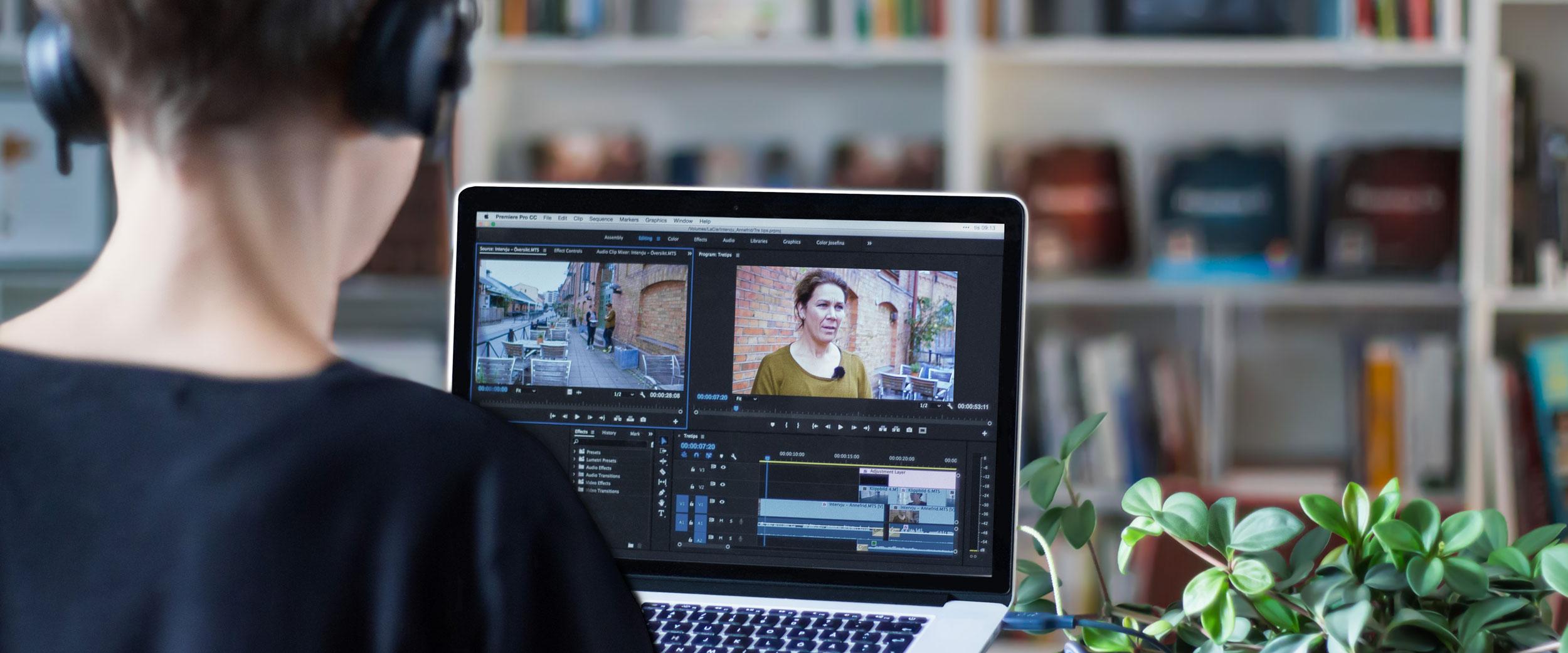 Onlinekurs Videoredigera med Premiere Pro
