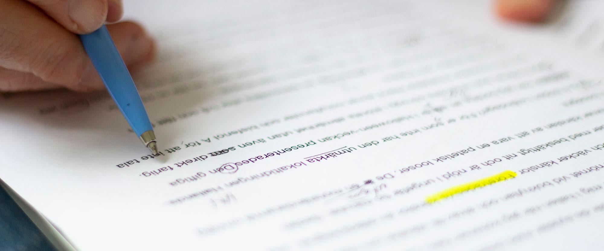 Onlinekurs Skrivregler