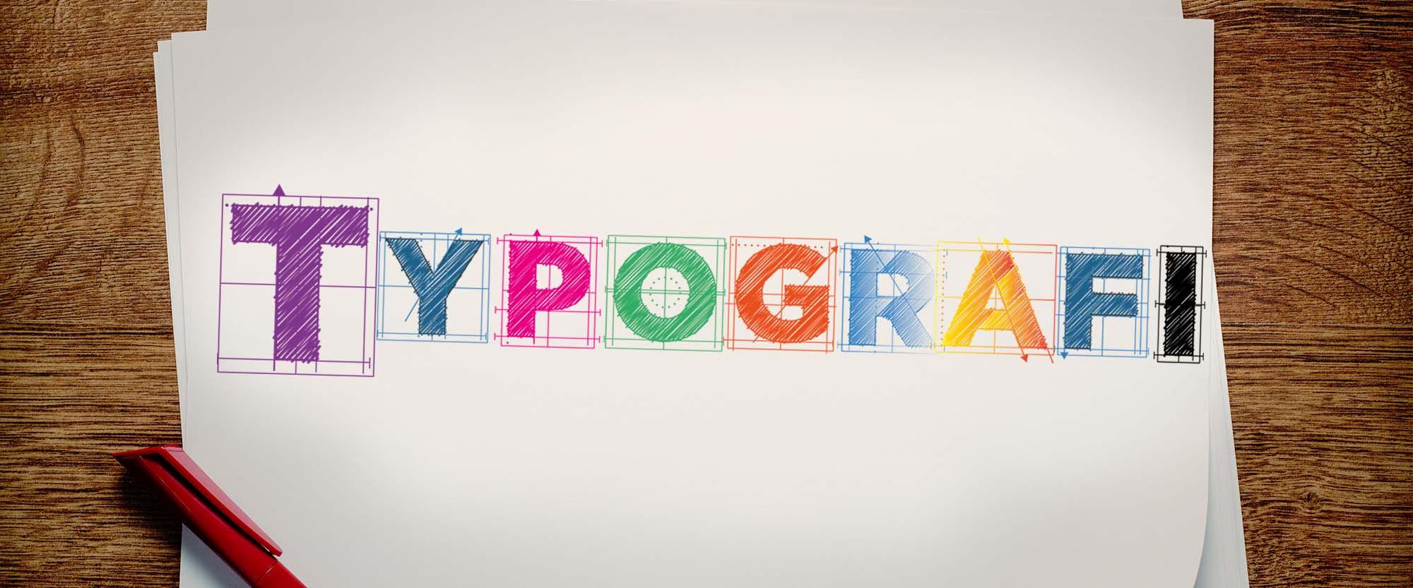 Onlinekurs Typografi