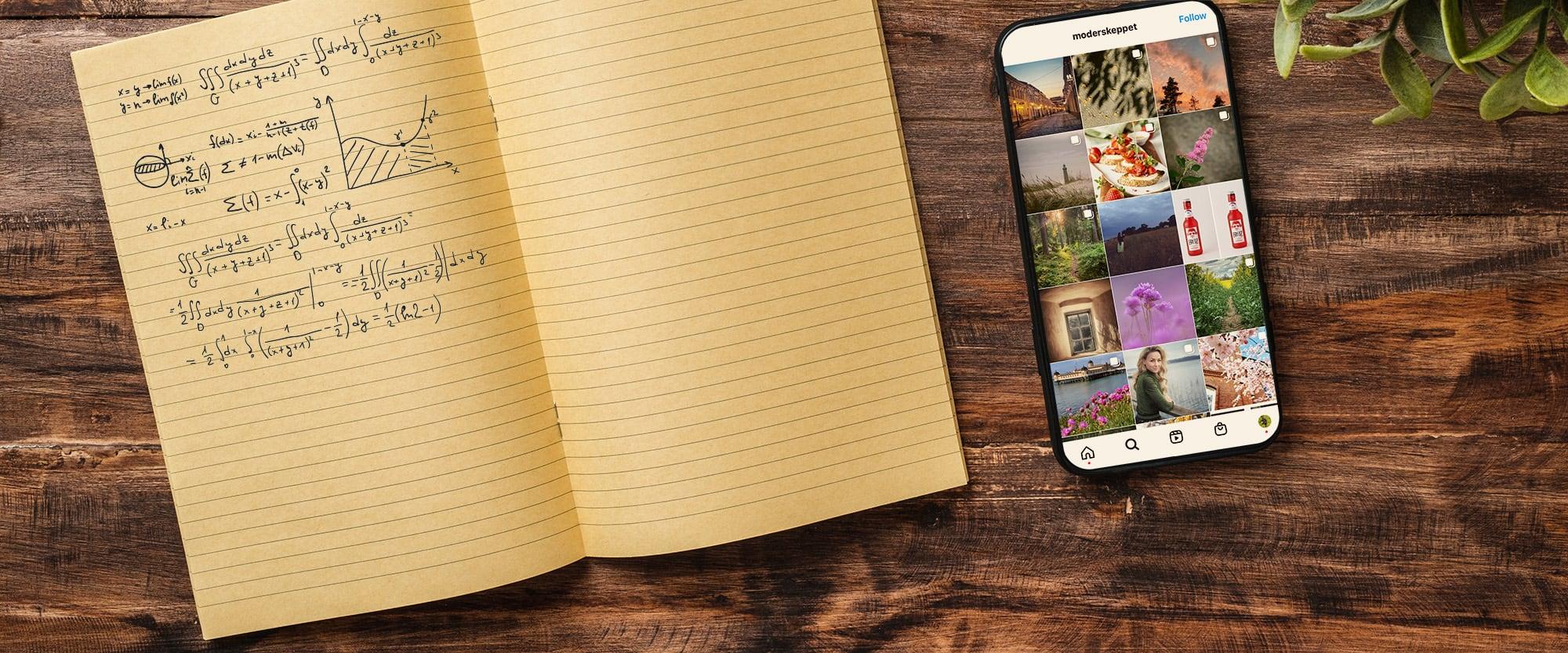 Onlinekurs Algoritmen på Instagram