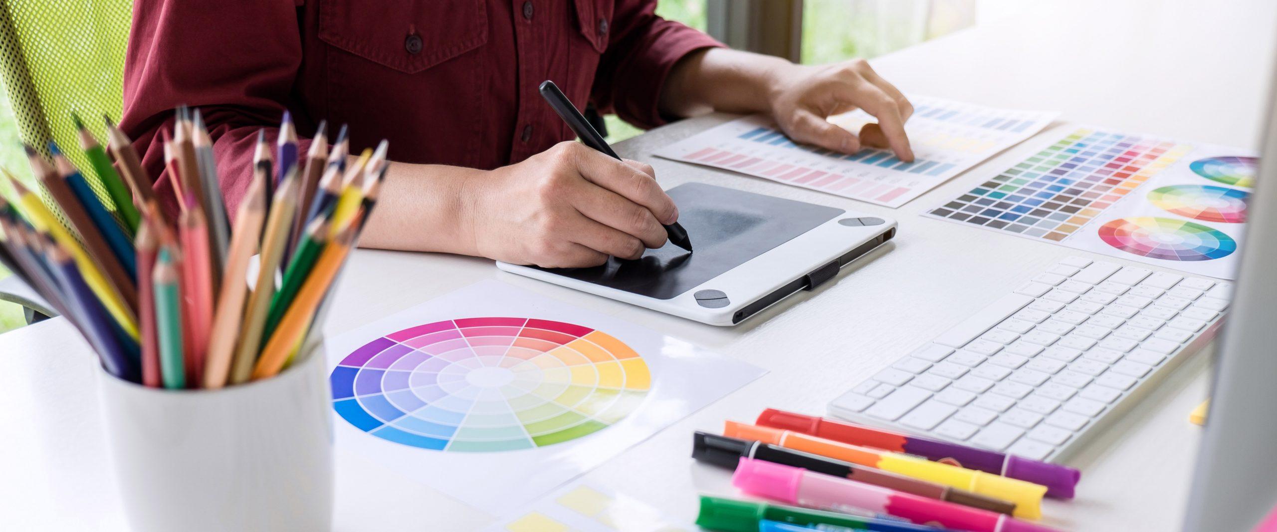 Onlinekurs Färg för webb och tryck