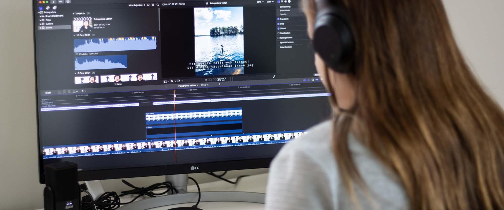 Onlinekurs Undertexta i Final Cut Pro X